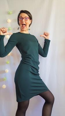 Ma petite robe verte [ + TUTO INSIDE ]