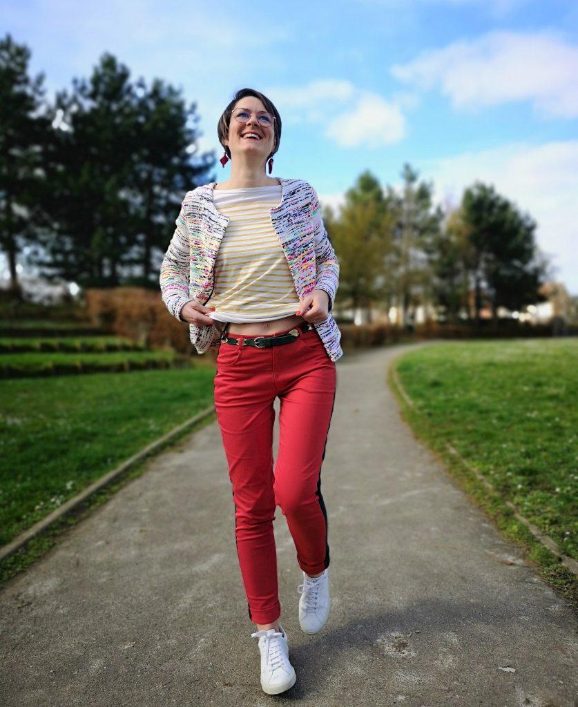 couture jean pantalon stragier