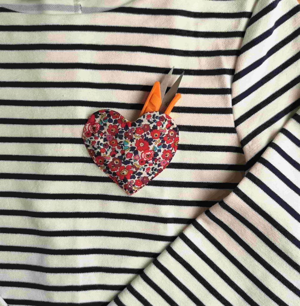 tutoriel poche coeur couture