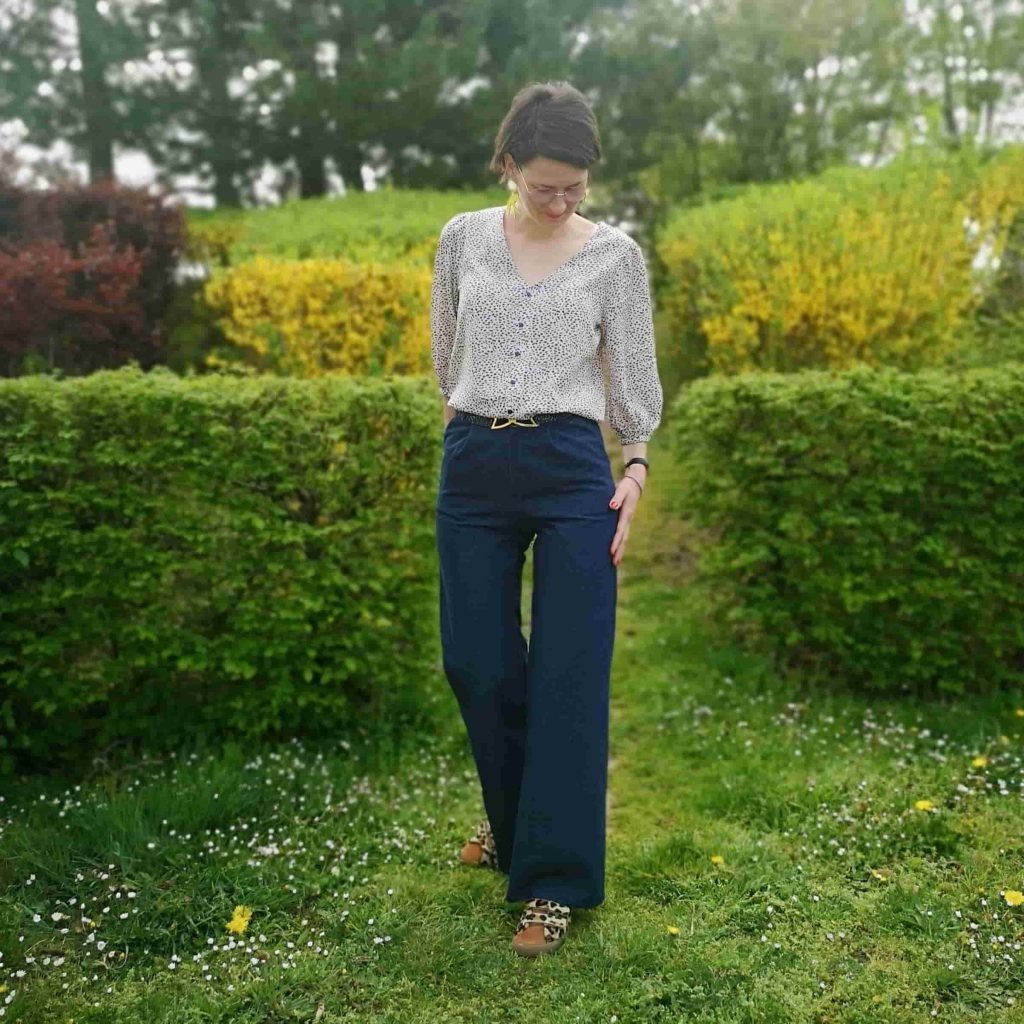 pantalon artesane blouse norma fibremood