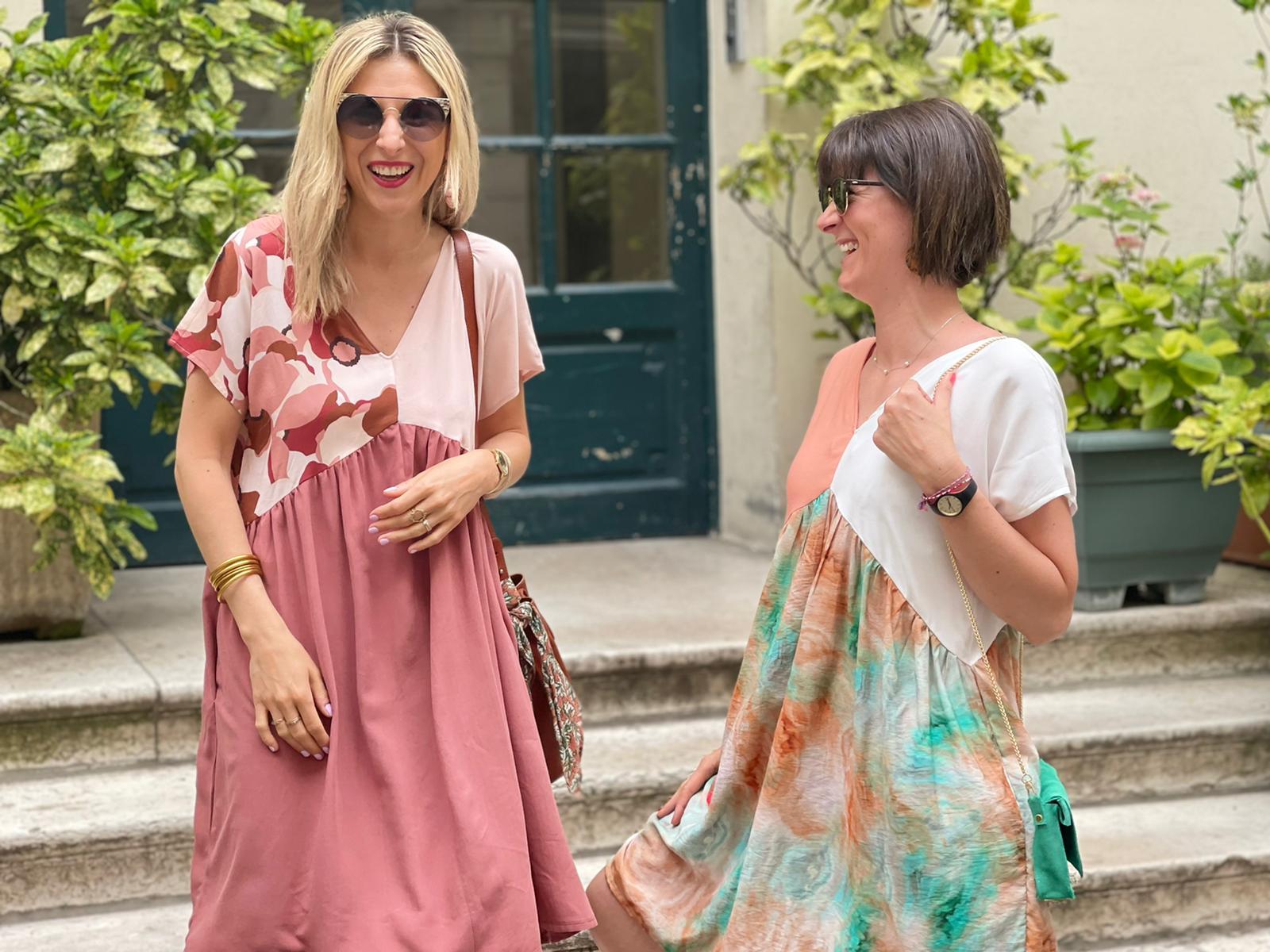 robe sherazade i am patterns pretty mercerie couture
